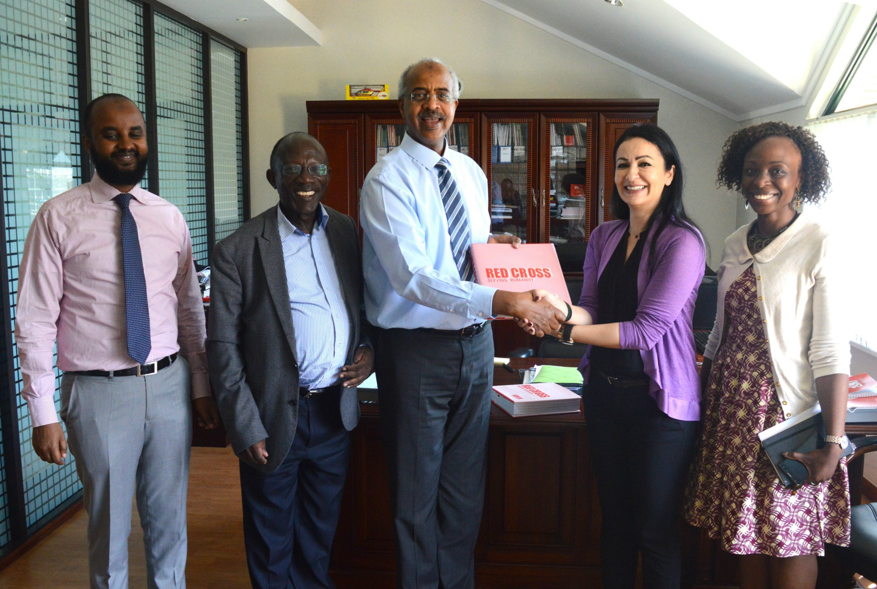 New Partnership With The Kenya Red Cross Society