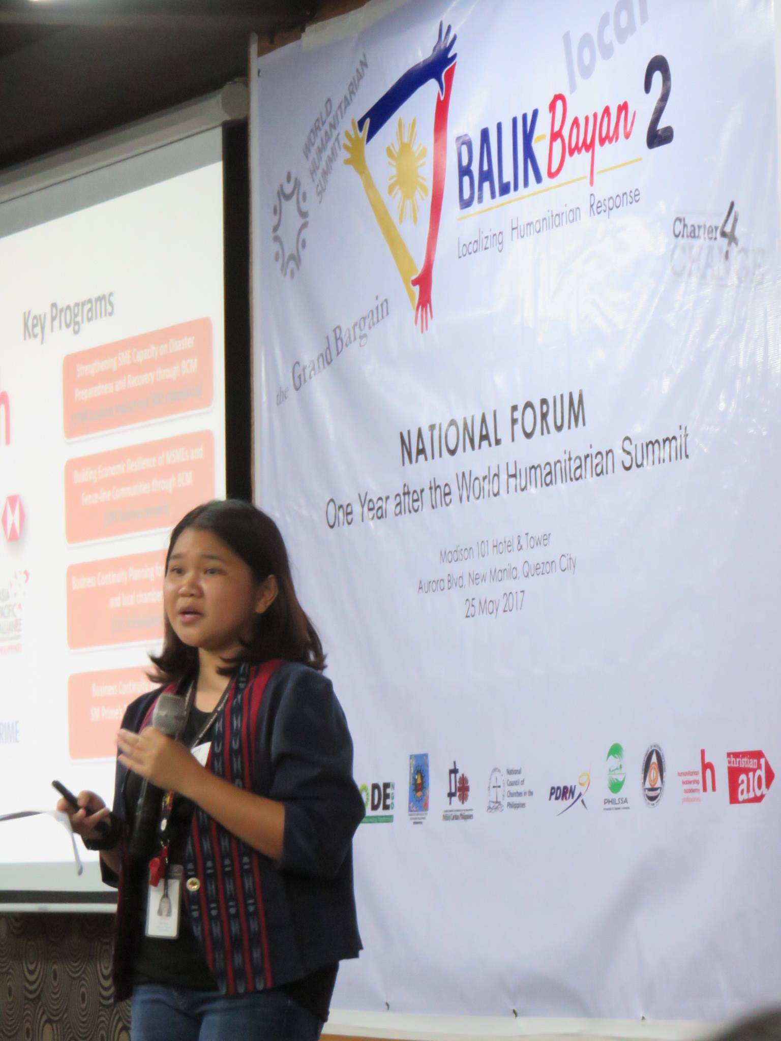 National Forum In The Philippines: A Year After The World Humanitarian Summit