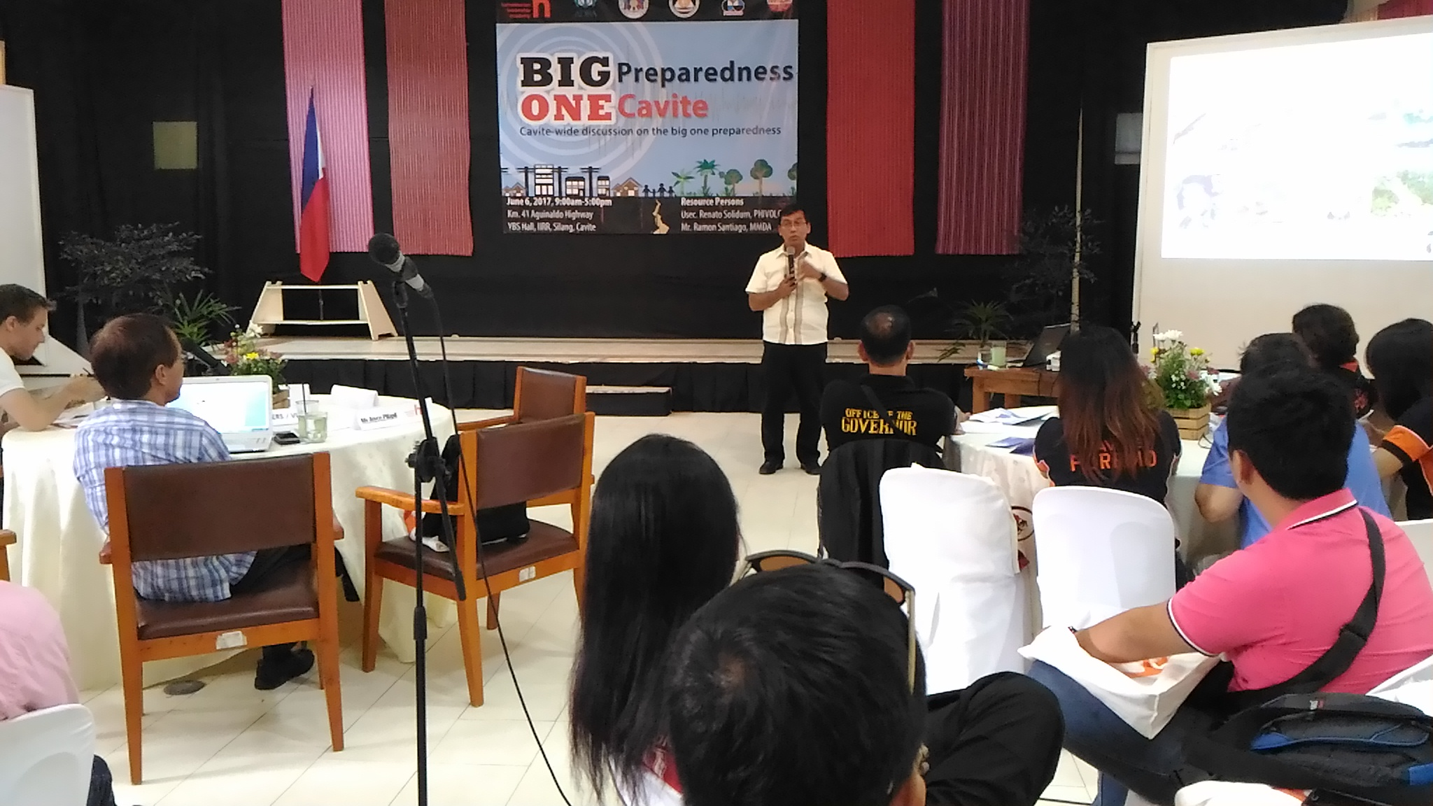 "Cavite Province Talks About Preparing For The ""Big One"""