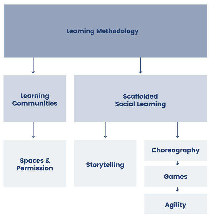 social learning humanitarian leadership diagram
